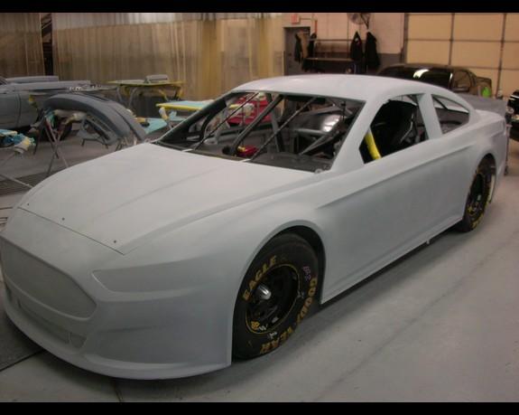 2013 Ford Fusion Nascar Sprint Cup Car Unveiled