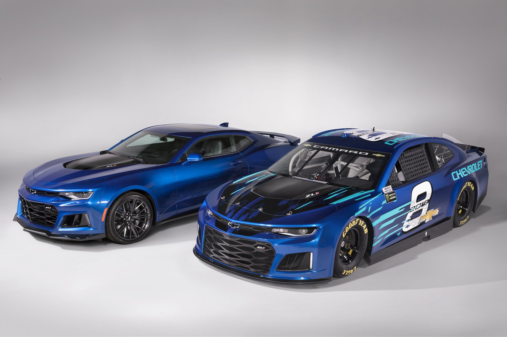 Chevrolet Unveils Camaro Nascar Cup Race Car