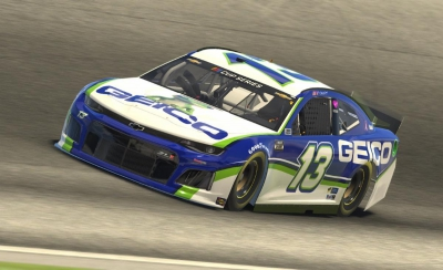 Dillon and the Gecko turn in 19th place finish in Homestead eNASCAR iRacing Pro Invitational Series Race