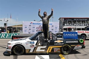 NGOTS: Sheldon Creed wins Gander Outdoor Truck Series race at Gateway