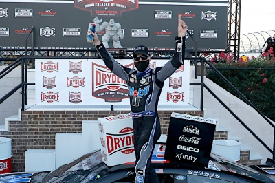 Kevin Harvick wins at Dover as NASCAR Cup Playoff battles intensify
