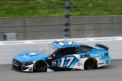 Buescher Leads 13 Laps, Finishes Eighth at Kansas