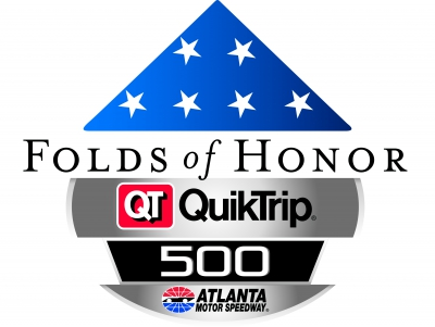 Fold of Honor 500 starting lineup at Atlanta Motor Speedway