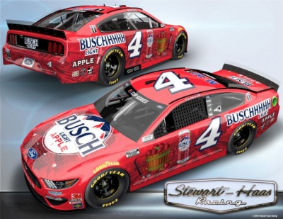 Kevin Harvick Hey Now, You're an All-Star, So Enjoy a Busch Light Apple