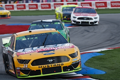 Clint Bowyer Fourth at Charlotte Roval