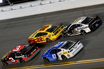 Almirola Finishes Second in Duel