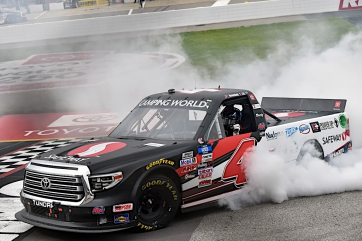 John Hunter Nemechek Dominates to Win at Richmond