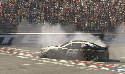 Timmy Hill wins eNASCAR iRacing race at virtual Texas Motor Speedway