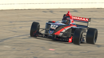 Tire Rack Road to Indy iRacing eSeries Kicks Off at Gateway