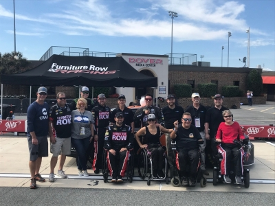 Adaptive No. 78 Turns Laps at Monster Mile