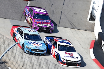 Harvick Earns Top-10 at Martinsville
