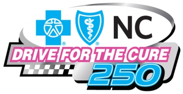 Drive for the Cure 250 presented by Blue Cross and Blue Shield of North Carolina results from Charlotte Motor Speedway
