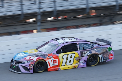 Kyle Busch, No. 18 M&M'S Fudge Brownie Toyota Camry Race Recap for the FireKeepers Casino 400