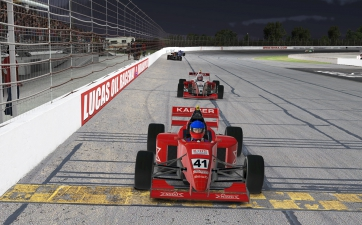 Castro, Kaeser Shine as New iRacing eSeries Winners at LOR