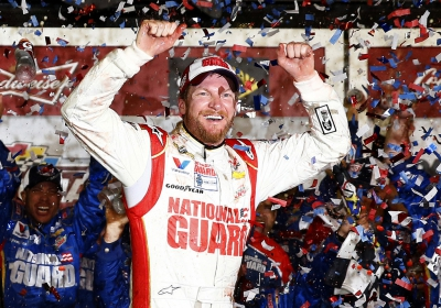 Dale Jr. Elected to NASCAR Hall of Fame on First Ballot