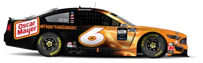 Hot Dog! Oscar Mayer and Ryan Newman are back on the track
