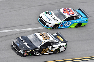 Almirola Finishes Solid Third at Talladega