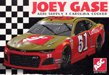 Joey Gase Racing to Pay Tribute to NASCAR Hall of Fame Driver Bobby Allison at Darlington Raceway
