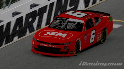SEM Products, INC. Partners With Ryan Vargas At Martinsville Speedway