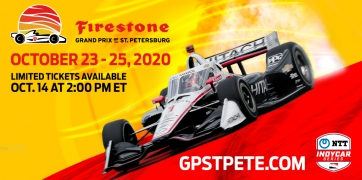 Limited general admission tickets on sale for the 2020 Firestone Grand Prix of St. Petersburg
