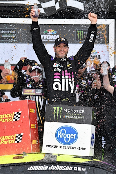 Sunday's Busch Clash to kickoff Jimmie Johnson's final season