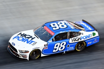 Chase Briscoe Finishes Second at Bristol