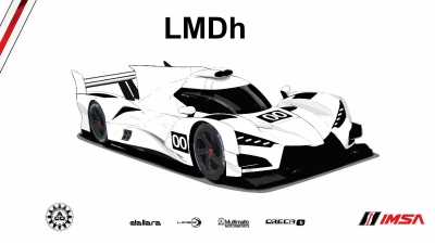 LMDh Technical Regulations Confirmed by IMSA and ACO at Le Mans Press Conference