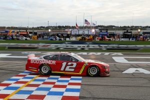 Ryan Blaney Tops NASCAR Cup Series Happy Hour