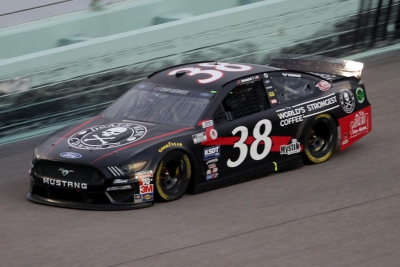 John Hunter Nemechek Ready for 'Dega with Death Wish Coffee