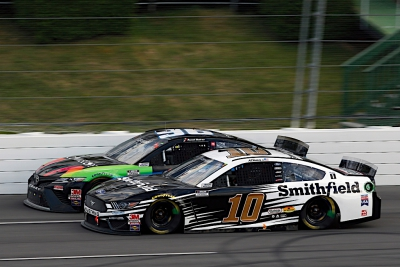 Almirola Finishes Solid Fifth at Pocono