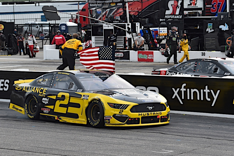 Team Penske, Brad Keselowski extend contract