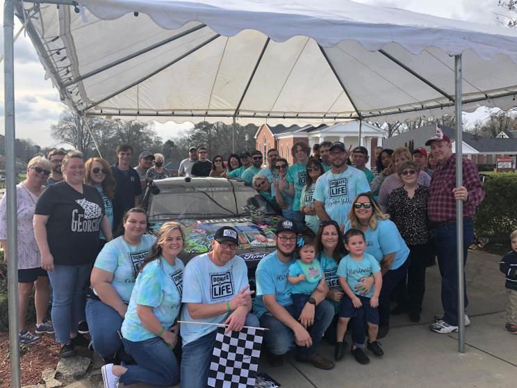 NASCAR driver to celebrate the gift of life