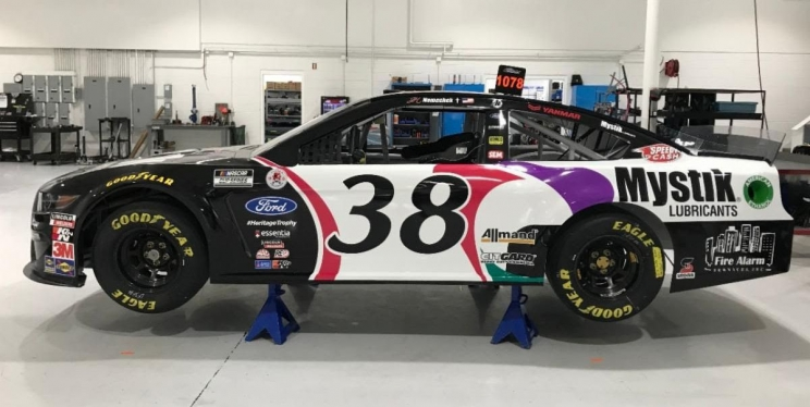 Mystik® Lubricants Returns to Front Row Motorsports