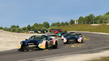 Hurley and Kicera Conquer Bridgehampton with a Pair of Trans Am by Pirelli Esports Wins