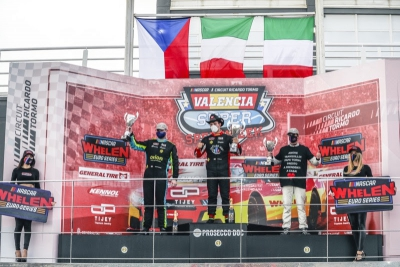 Vittorio Ghirelli expands EuroNASCAR 2 championship lead with third consecutive win