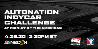 News from INDYCAR: INDYCAR iRacing Challenge hits the road for Round 5 at COTA
