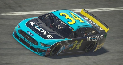 K-LOVE to Serve as Primary Sponsor for Michael McDowell at Virtual Talladega