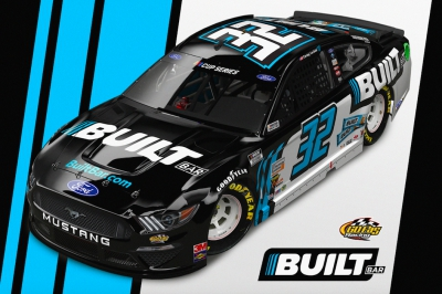 Built Bar to partner with LaJoie, No.32 team beginning at Atlanta Motor Speedway