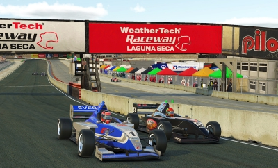 Denes Claims Brilliant iRacing eSeries Double at Home Track