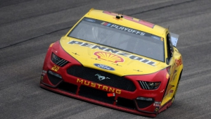 Joey Logano Wins in Kansas