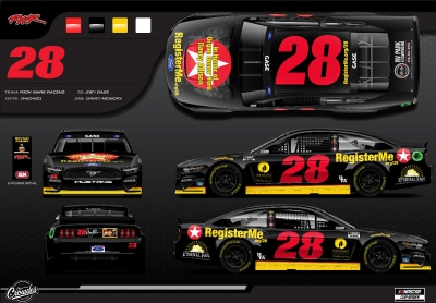 The Historic 28 will make its return to Talladega SuperSpeedway April 24 and April 25 in honor of Organ Donor Hero Davey Allison