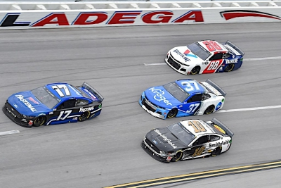 Buescher Secures Third Top-10 of Season with Sixth Place Finish at Talladega