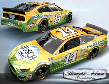 Clint Bowyer No. 14 Busch Light For The Farmers Racing: Clint Bowyer Atlanta Advance