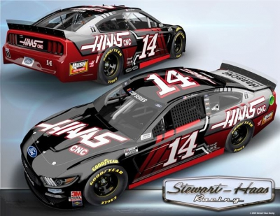 Clint Bowyer 'Back in (the Haas Red and) Black'