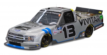 Sakar Partners with ThorSport Racing's Johnny Sauter's No. 13 Ford F-150