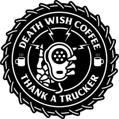 "Death Wish Coffee Teams up with Front Row Motorsports to ""Thank A Trucker"""