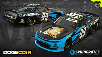 Coin Cloud Announces $100k Dogecoin Giveaway for Las Vegas NASCAR Race