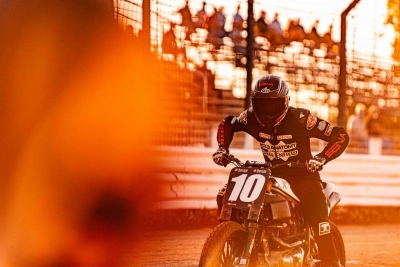 Johnny Lewis Debuts Royal Enfield Twins FT