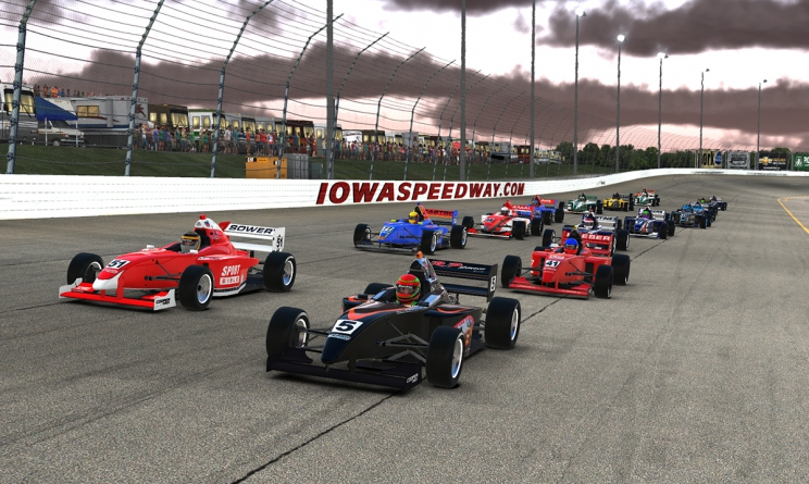 Denes Clinches TireRack.com iRacing eSeries with Iowa Victory