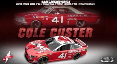 Cole Custer First Playoff Race for Cup Series Rookie of the Year